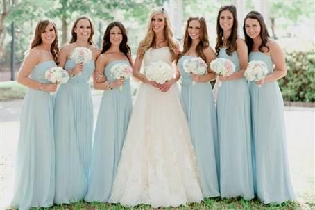 light blue green bridesmaid dresses 2016 » My Dresses Reviews