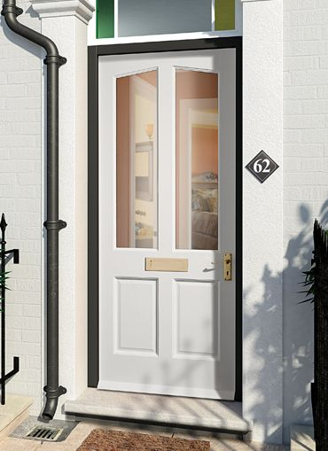 Marvelous Richmond Mu0026T Pre Glazed Clear Hardwood External Door