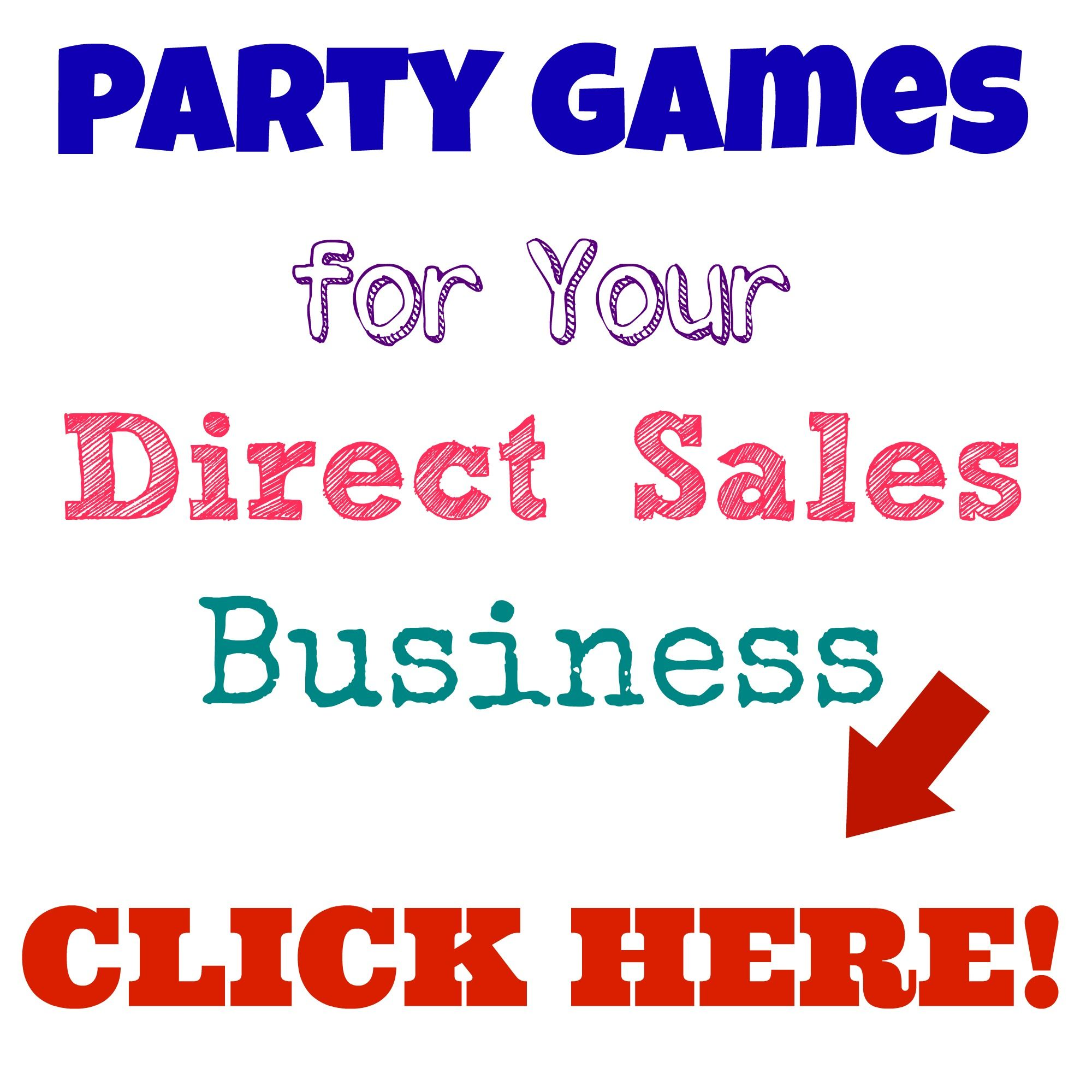 Party Games for Your Direct Sales Business Party games Gaming