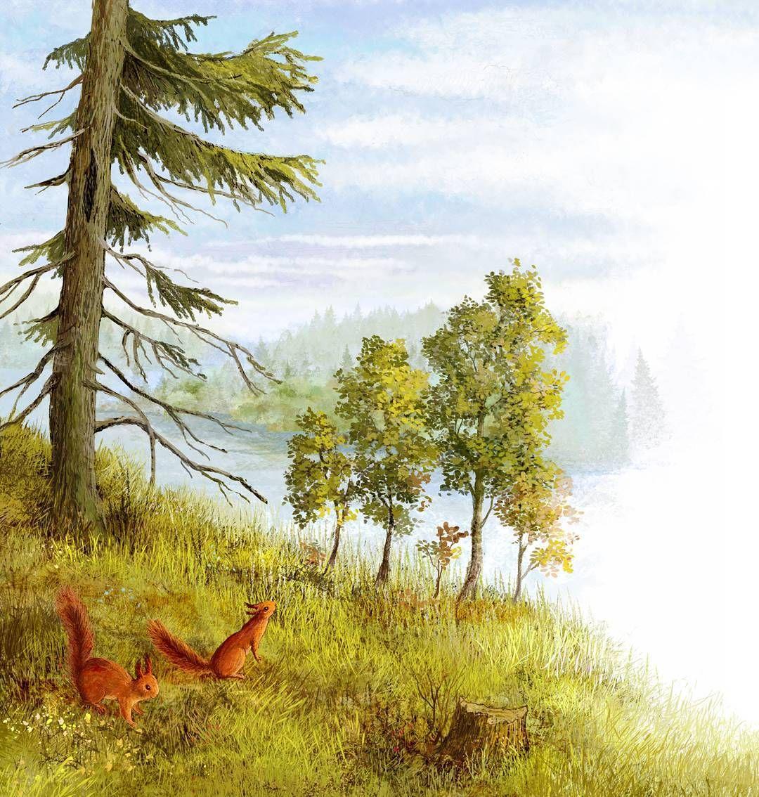 Мамин сибиряк картинки к сказке лесная сказка ковры
