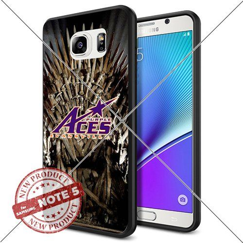 NEW Evansville Purple Aces Logo NCAA #1124 Samsung Note 5 Black Case Smartphone Case Cover Collector TPU Rubber original by ILHAN [Game of Thrones] ILHAN http://www.amazon.com/dp/B0188GPYQC/ref=cm_sw_r_pi_dp_LPDLwb0XK5D95