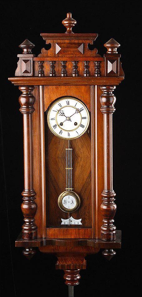 Reloj de Pared Antiguo | Relojes de pared antiguos, Relojes