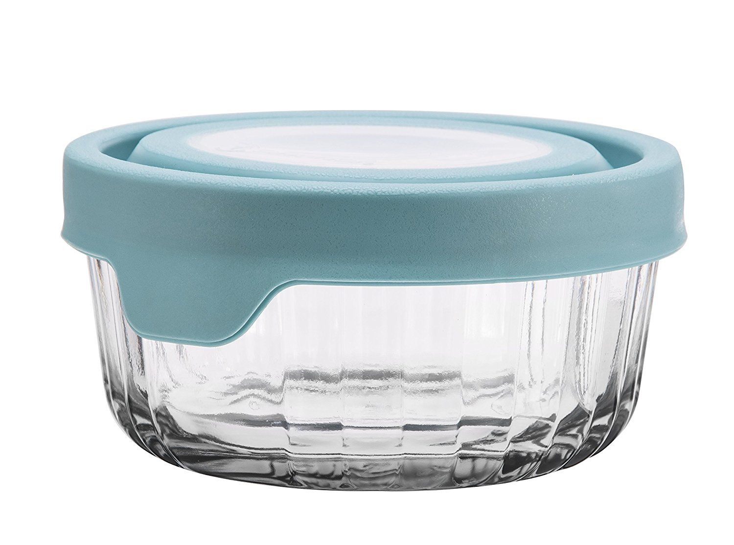 Amazon Com Anchor Hocking Trueseal Embossed Glass Food Storage Container With Airtight Lid Glass Food Storage Containers Food Storage Glass Storage