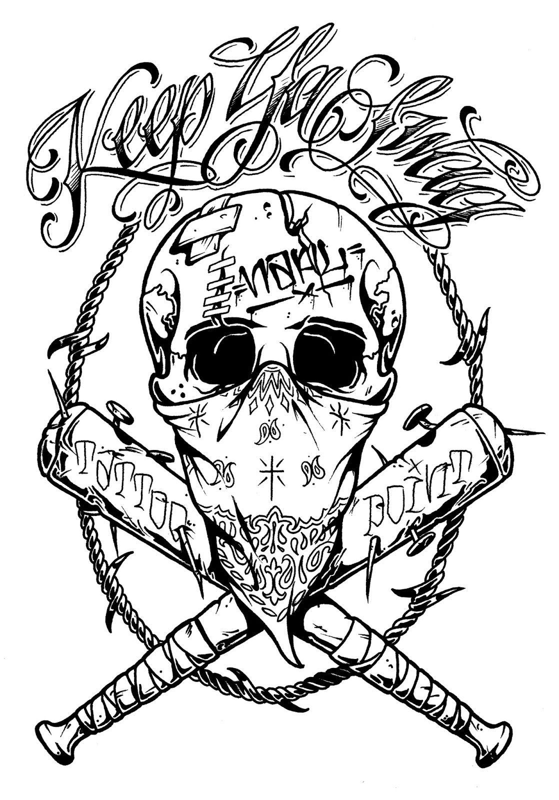 Crazy Skull Art