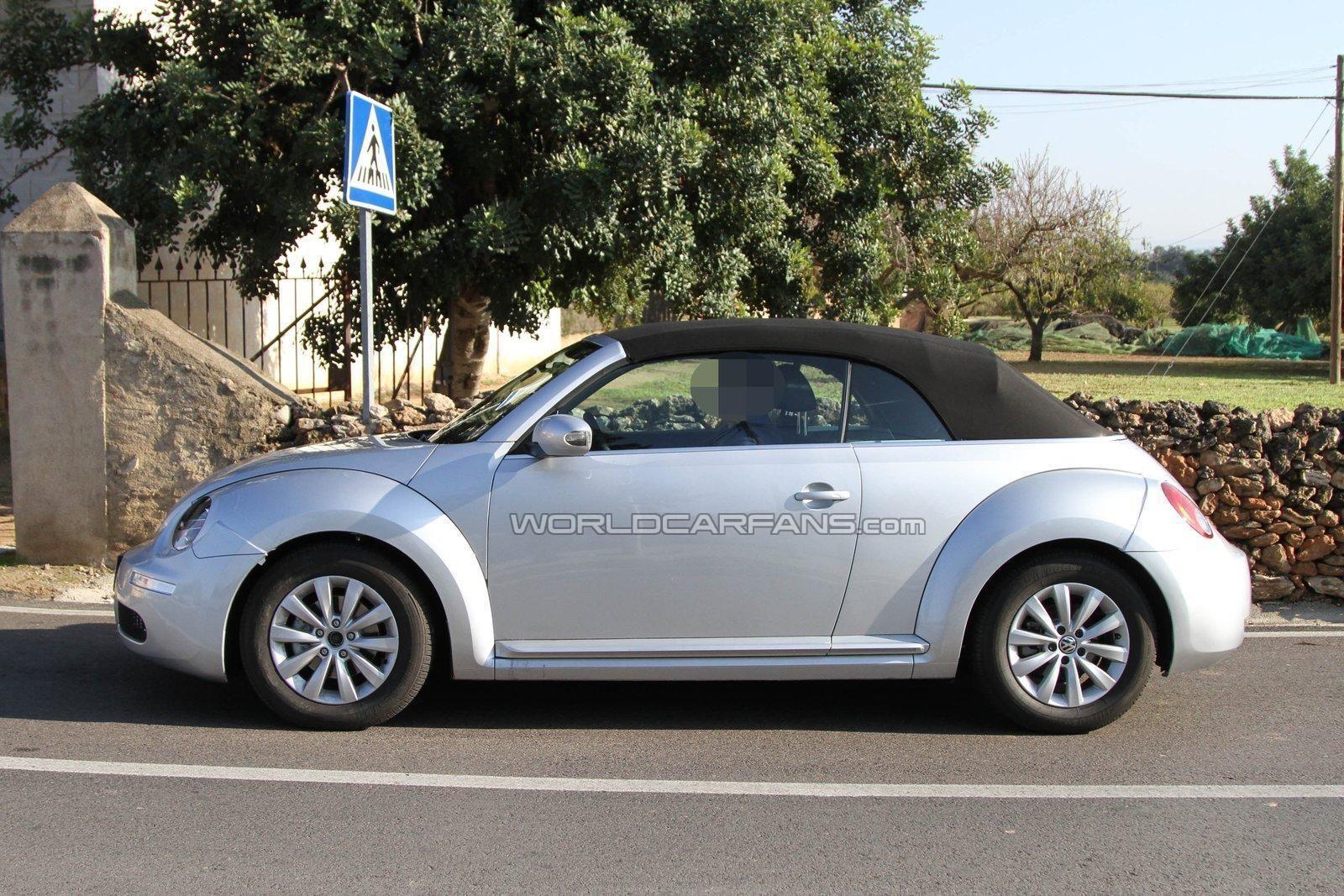 2012 volkswagen beetle convertible