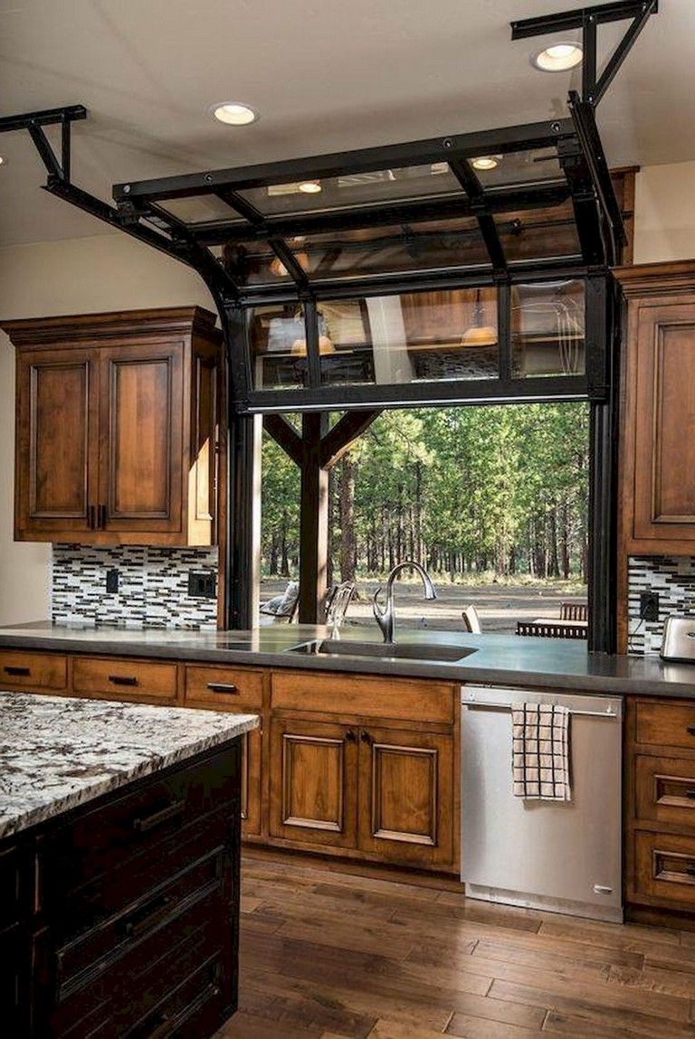 31 Awesome Kitchen Designs Ideas With Rustic Garage Door Styles Glass Garage Door Home Builders