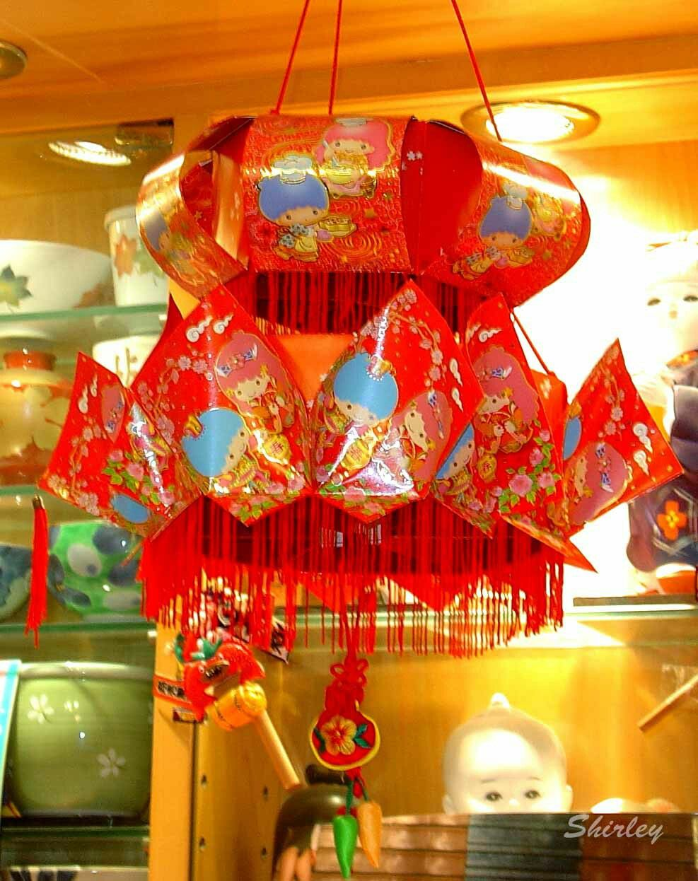 Twin Star Red Packet Lantern | Red packet
