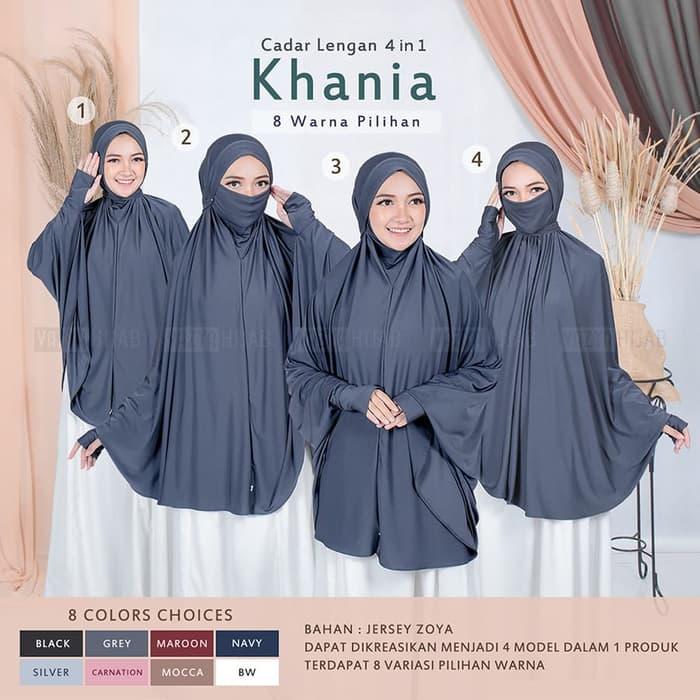 Hijab Masker Khimar Syar I Cadar Lengan Khania 4in1 Terbaru 2020 Trend Fashion Style Hijab 2020 Https Www Trendshijab Com Hijab Sy Baju Muslim Lengan Hijab