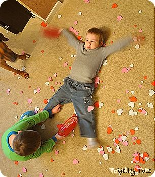 The Day it Rained Hearts {Valentine's Day fun from Totally Tots}
