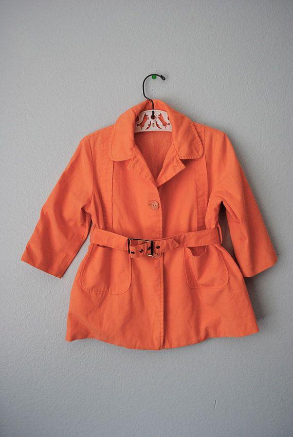 vintage spring toddler jacket