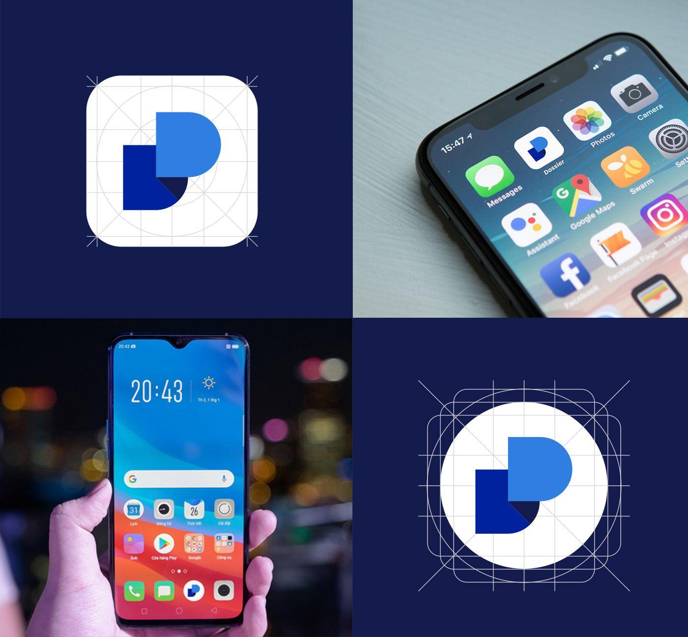 Dossier App Icon By Kanhaiya Sharma On Behance Behance