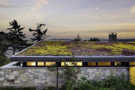 North Bay Residence Prentiss Balance Wickline Architects With Images Green Roof Design Green Roof House Roof Architecture