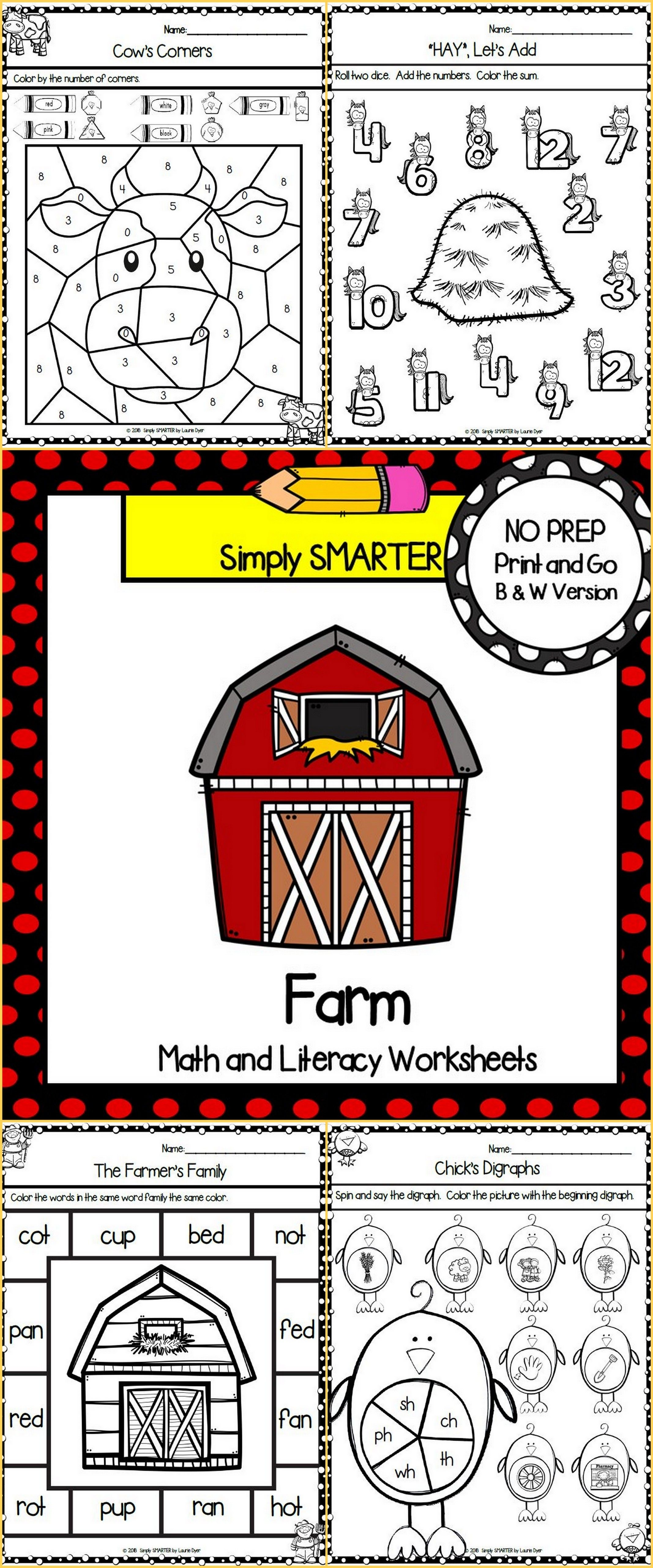 Are You Looking For No Prep Math And Literacy Activities