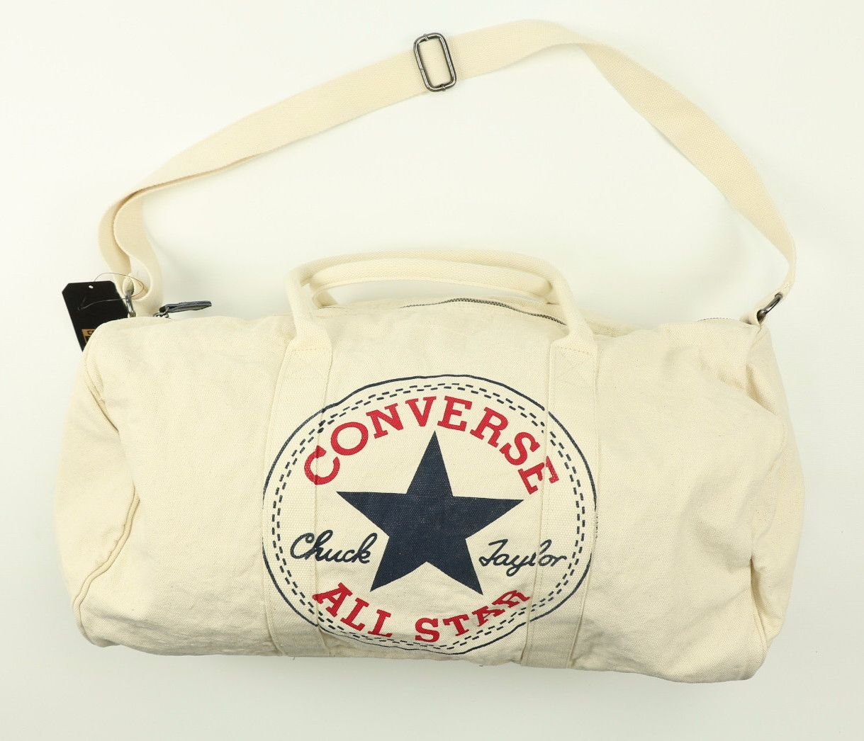 converse all star bag white