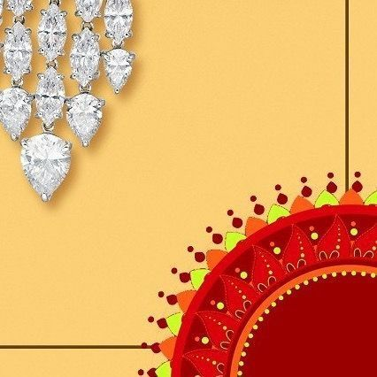 This Navratri shine bright like a diamond Angelina Jewels wishes you all a Happy Navratri This Navratri shine bright like a diamond Angelina Jewels wishes you all a Happy...