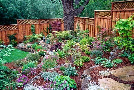 Simple tips for hillside landscaping landscaping ideas for Small garden on a slope designs