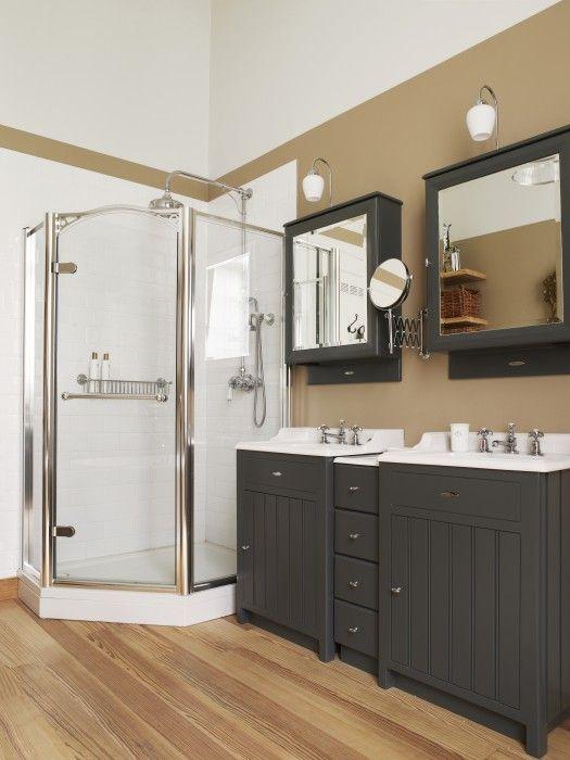 landelijk badkamermeubel - landelijke badkamer Taps & Baths ...