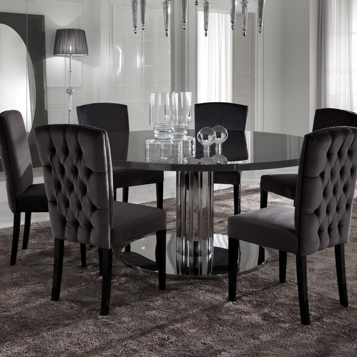 43 Luxury Modern Italian Dining Room Sets Ideas Decorecord Round Dining Table Round Dining Room Sets Round Dining Table Sets