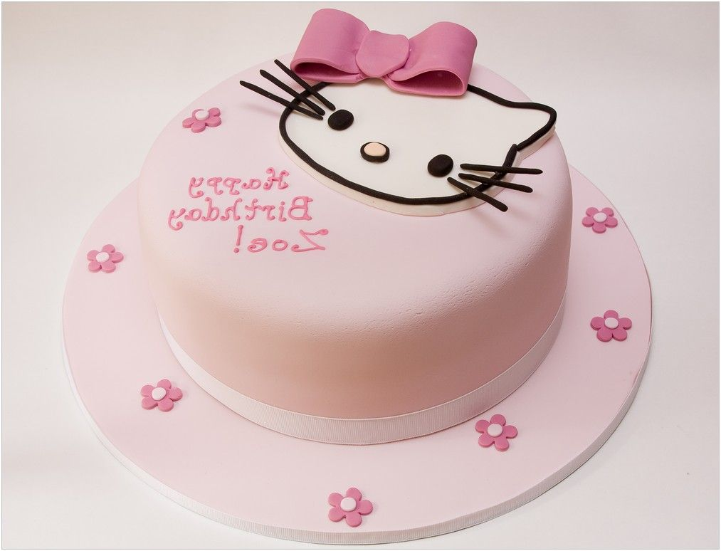 Hello kitty birthday cakes pictures