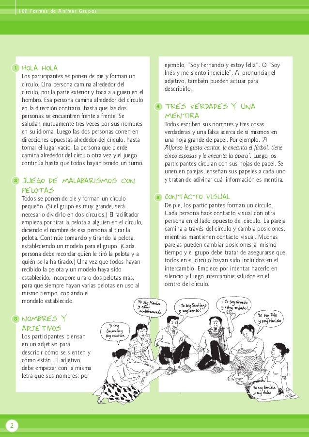 100 Dinamicas Para Adultos Adultos Mayores Pinterest Dinamica