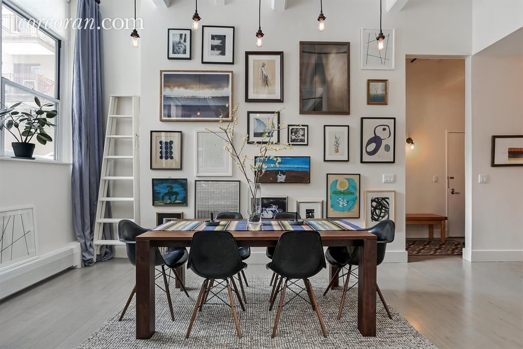 Stylish Bed-Stuy loft with soaring ceilings wants $850K Stylish
