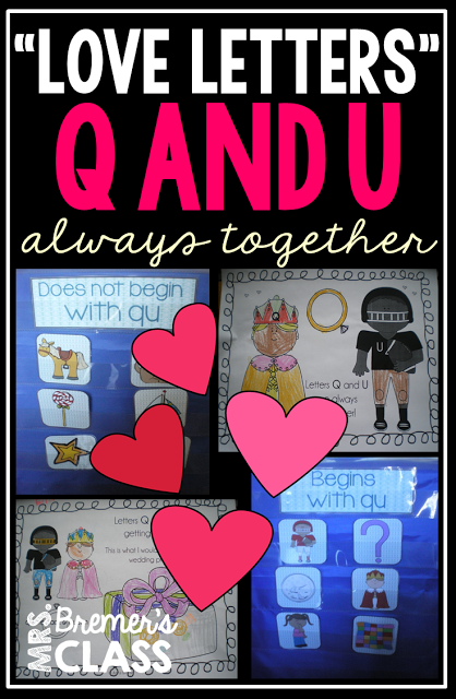 'Love Letters' Q and U...together forever Alphabet