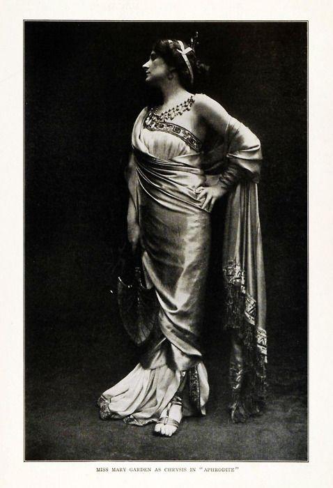 Mary Garden, 1908