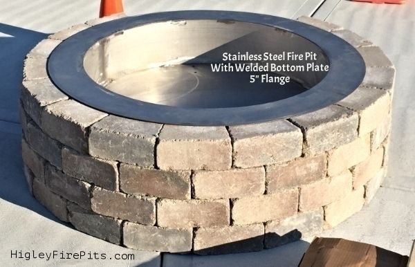 Photo By Higley Metals Steel Fire Pit Stainless Steel Fire Pit