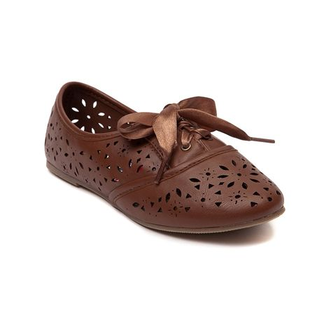 Shop for YouthTween Sarah-Jayne Jazz Chop Out Oxford Shoe in Tan at  Journeys Kidz. Shop today for the hottest brands in mens shoes and womens  shoes at ...