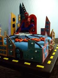 tarta spiderman - Buscar con Google