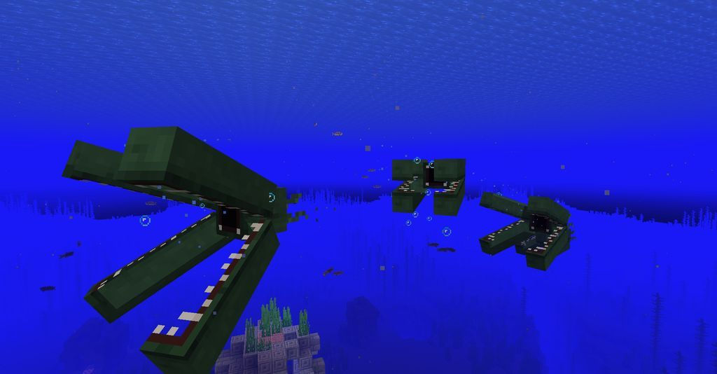 Minecraft Sea Depths Ocean Monster And Monsters Mod Download For Minecraft 1 16 1 And More Mods Ocean Depth Ocean Monsters Ocean