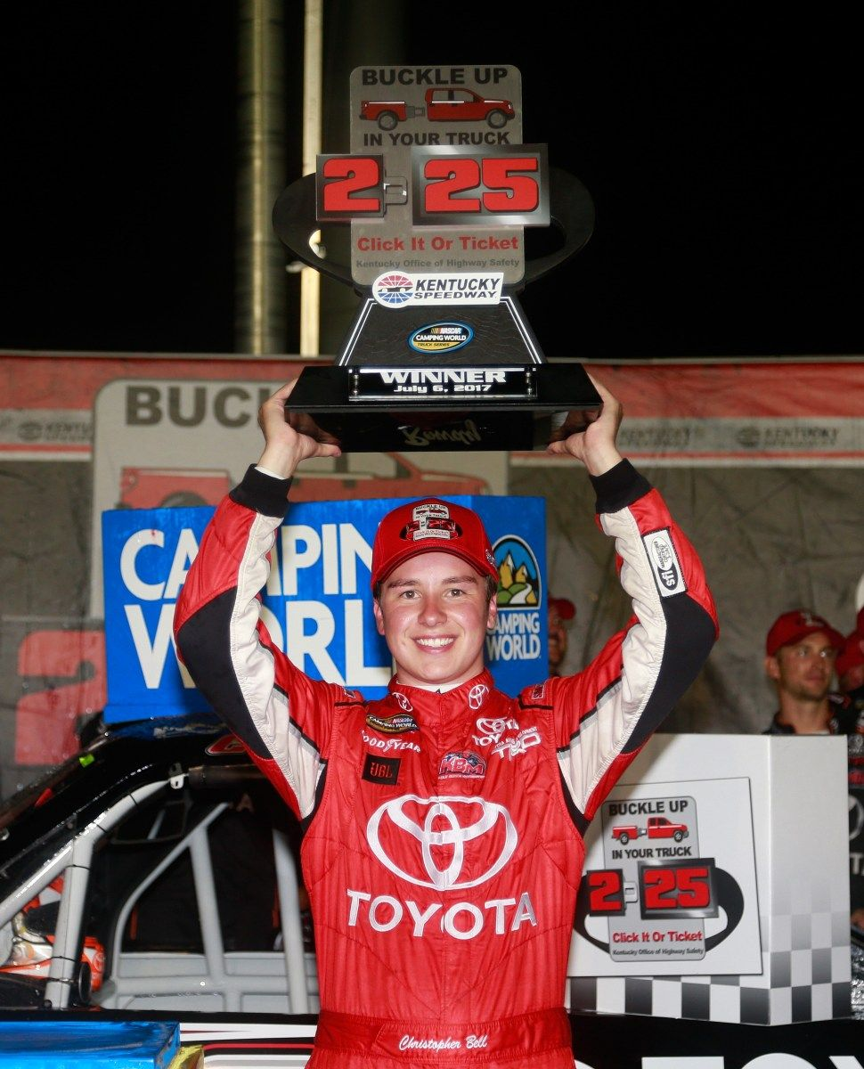 Christopher Bell survived an accident and an early spin to