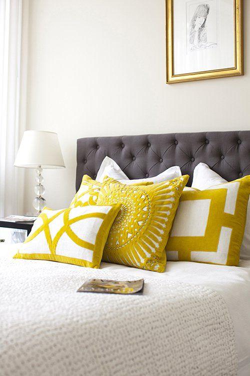 C mo decorar con cojines toda la casa revista decoraci n - Decorar muebles con tela ...