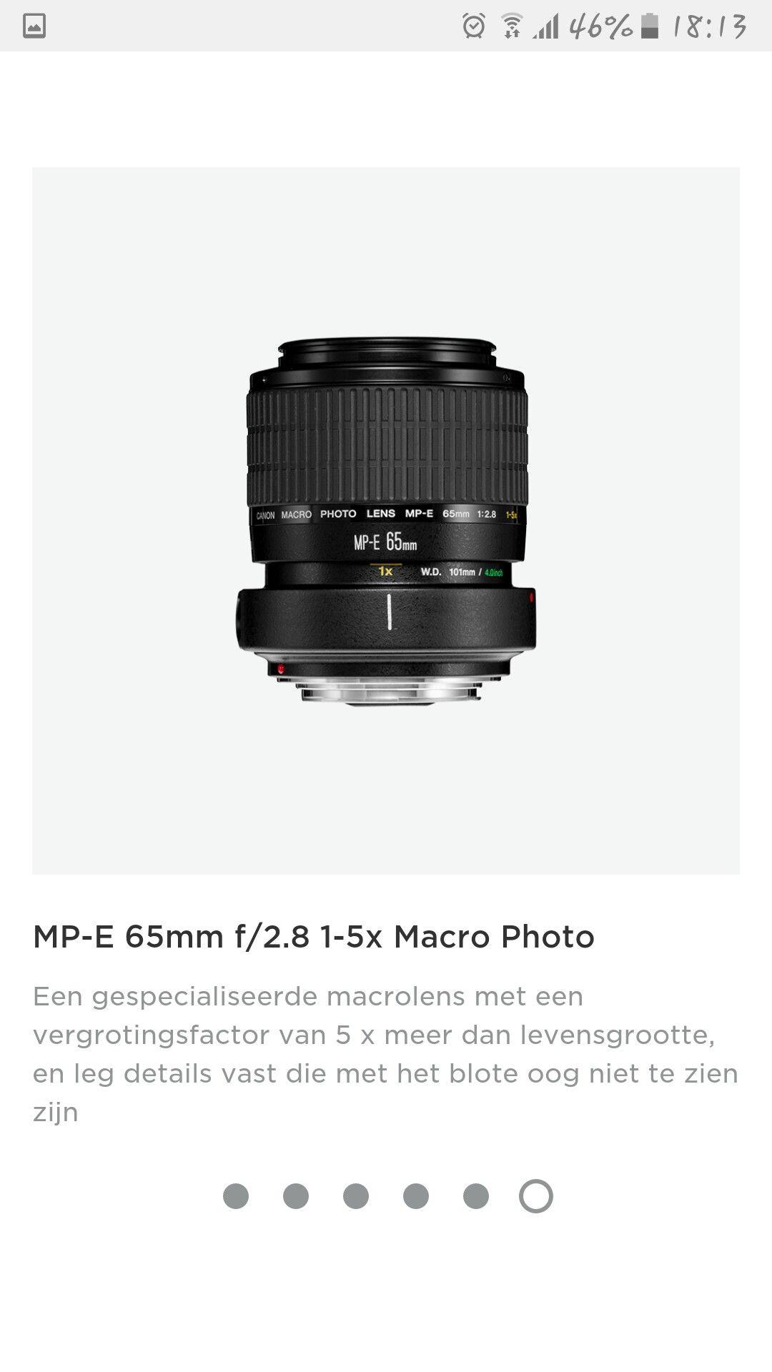 Canon MP-E 65mm
