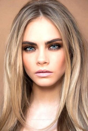Best Hair Color for Blue Eyes and Fair Skin, Pale Skin, Light ...