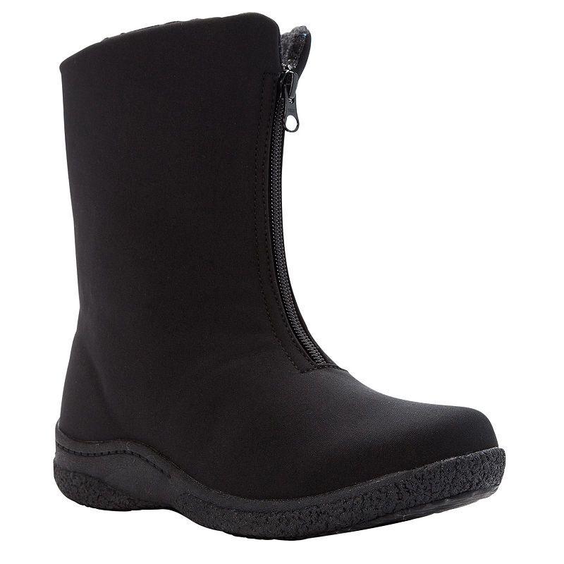 a2f4069fa63 Propet Womens Winter Boots Waterproof Insulated Flat Heel Zip ...