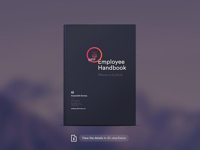 Ib Brand  Employee Handbook  Employee Handbook Human Centered