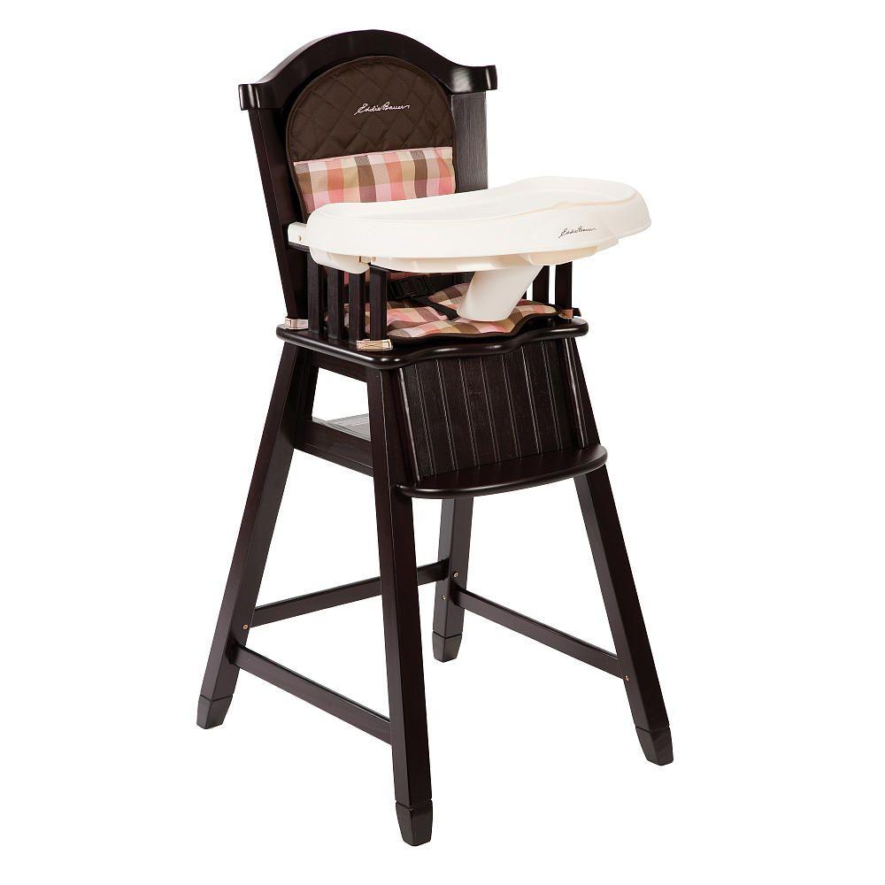babies r us high chair tall office chairs uk eddie bauer wood harmony