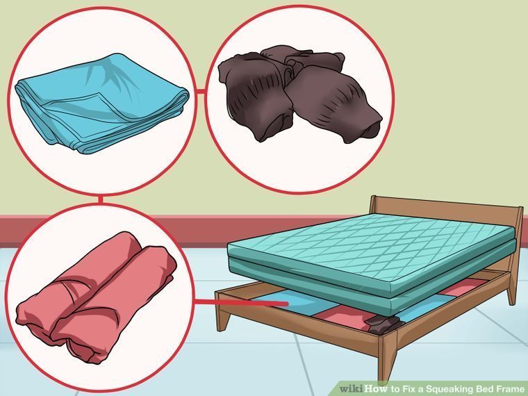 Fix a squeaking bed frame bed frame how to make bed
