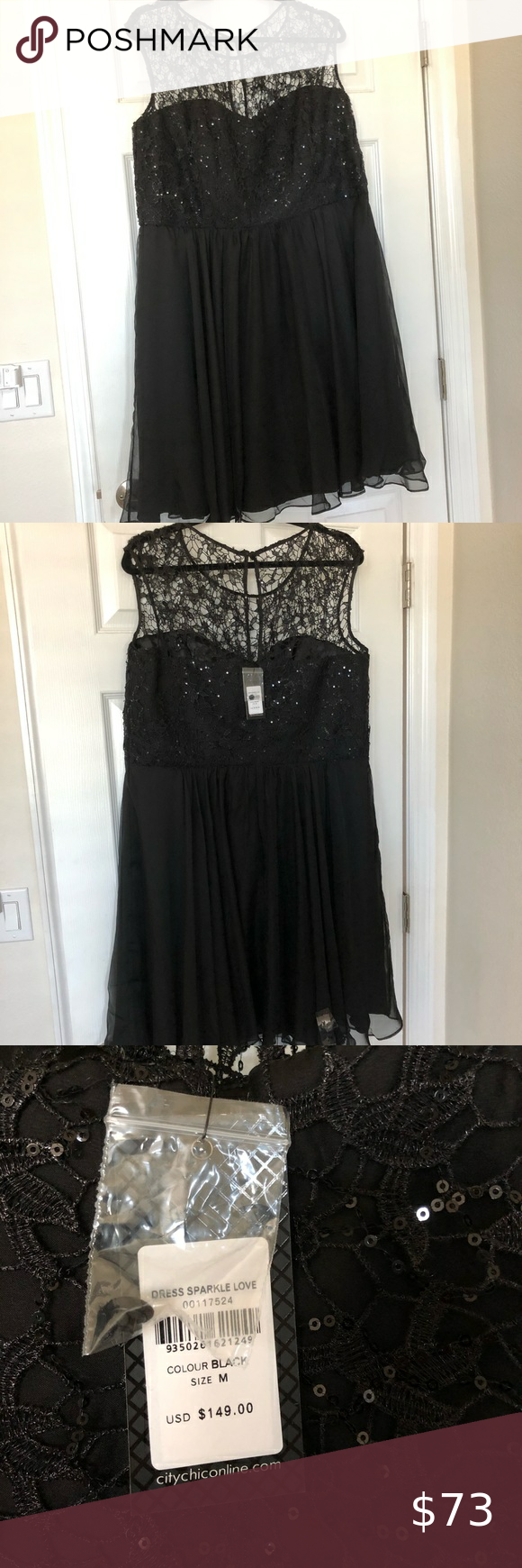 Beautiful Black Sparkle Dress In 2021 Black Sparkle Dress Sparkle Dress Chic Lace Dress [ 1740 x 580 Pixel ]