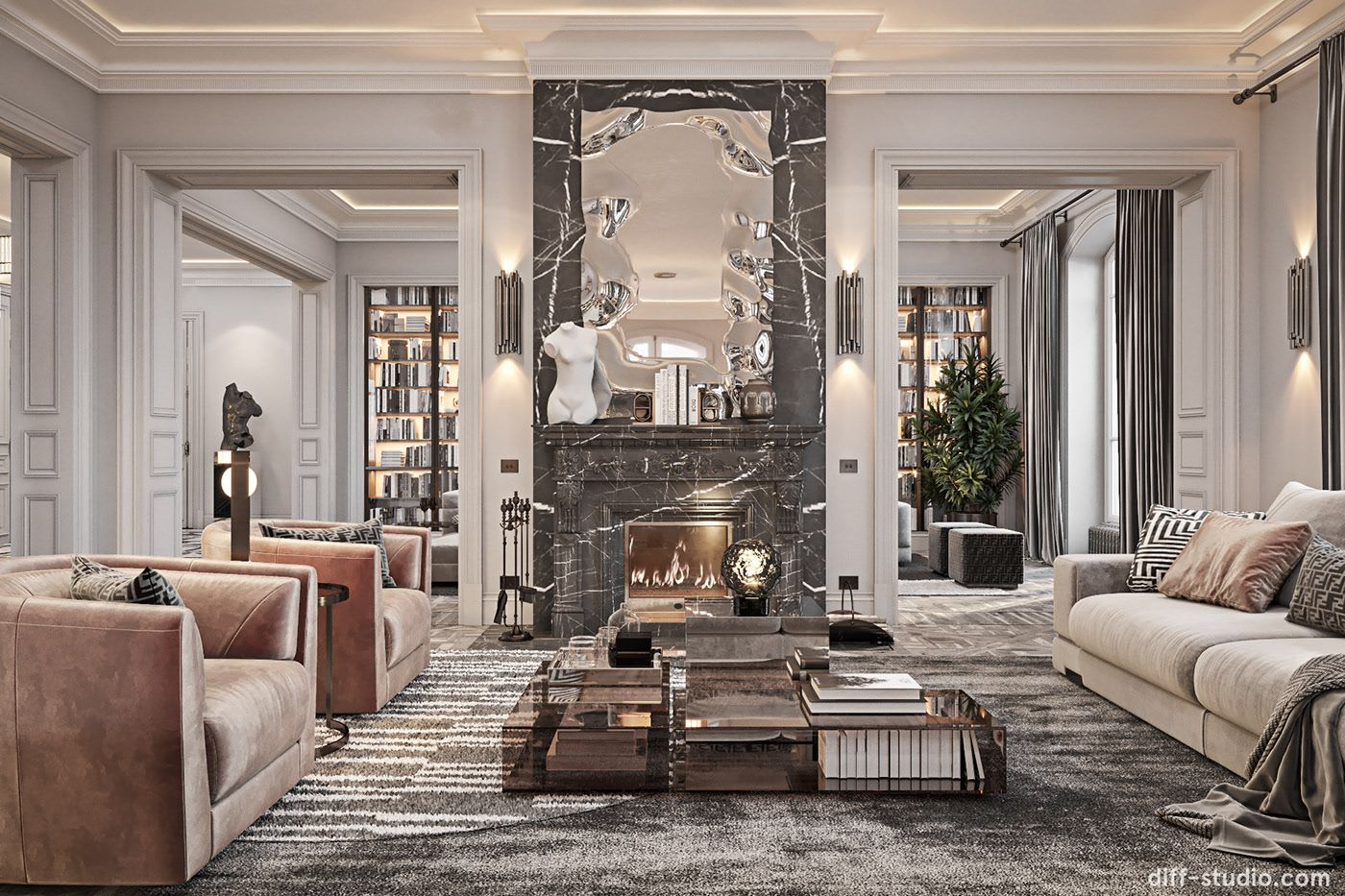 Fabulous Story In Paris On Behance Luxury Home Decor Nyc Interior Design Living Room Design Decor
