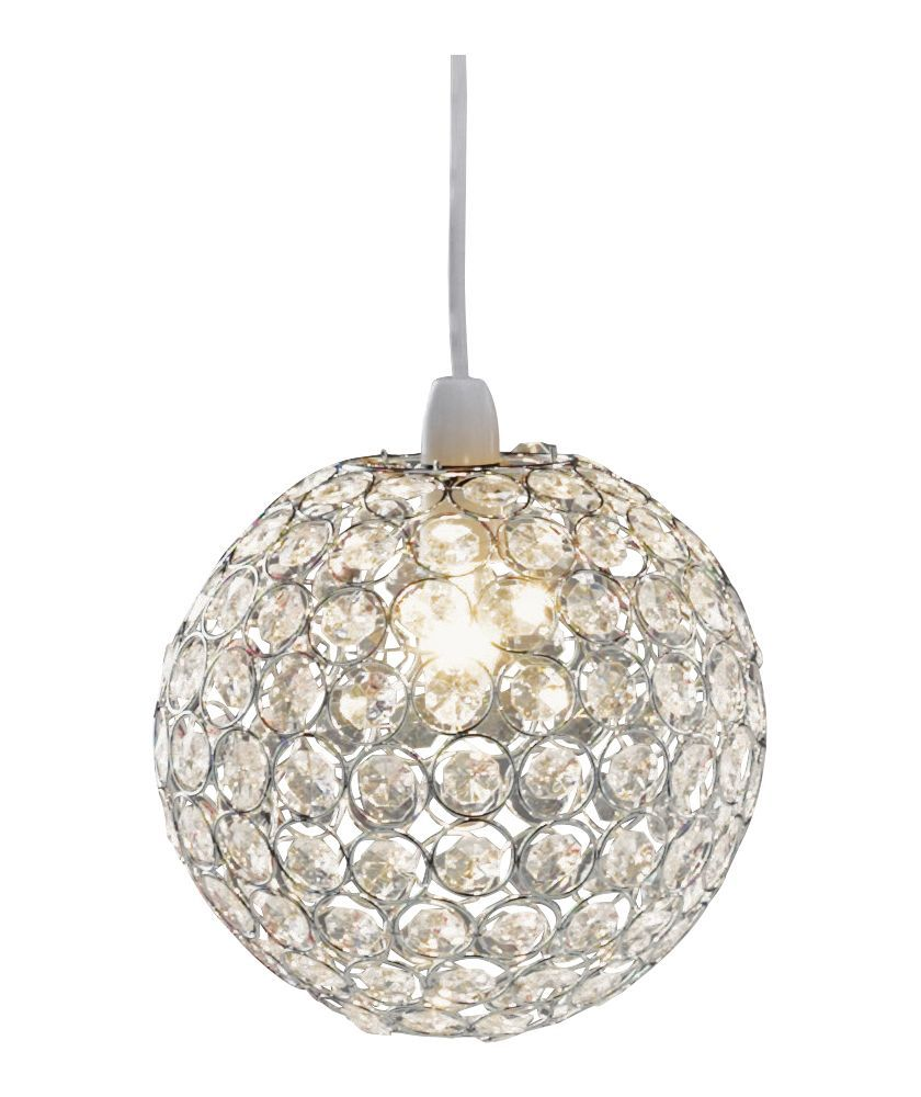 Buy crystal globe shade clear at argos your online shop buy crystal globe shade clear at argos your online shop aloadofball Images