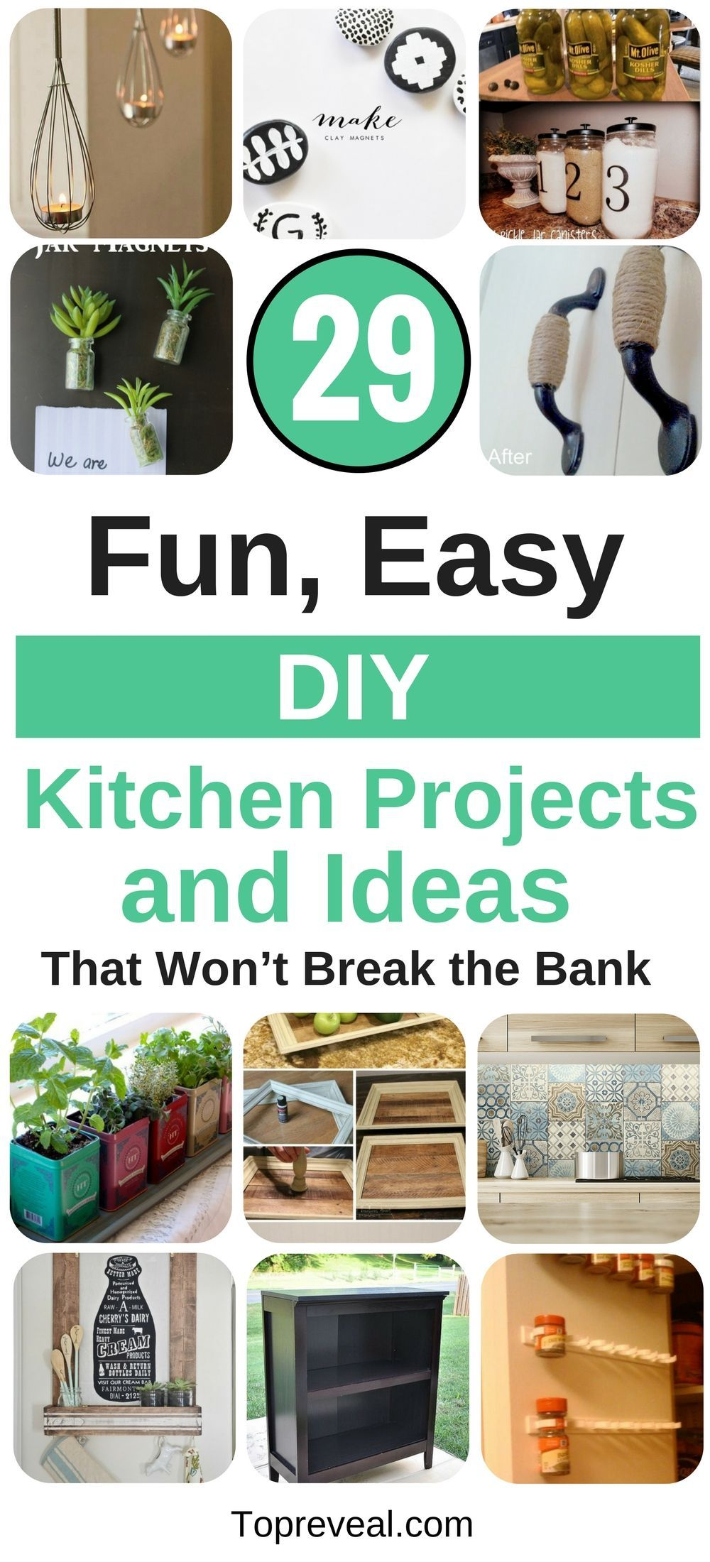29 Fun, Easy, DIY Kitchen Projects and Ideas That Won\'t Break the ...