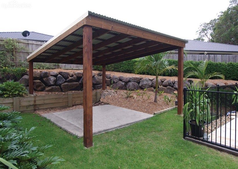 Patio U0026 Pergola Kits 5.0 X 6.0m   Easy To Assemble DIY By Tropicallifestyle