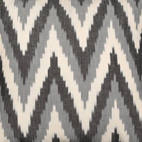 GREY 7. Ikat Fabric per meter. Contact before buy. Ikat Textile. Real Ikat. Handloom Cotton. Tie Dye.
