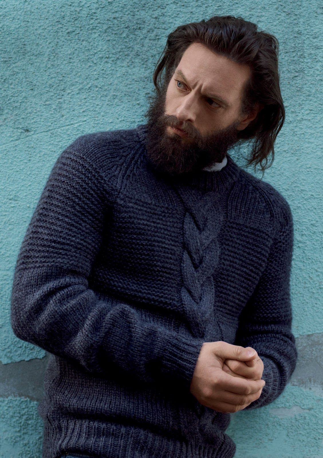 men's styling: The Chunky Hunky Knits- This time the Cable Guys