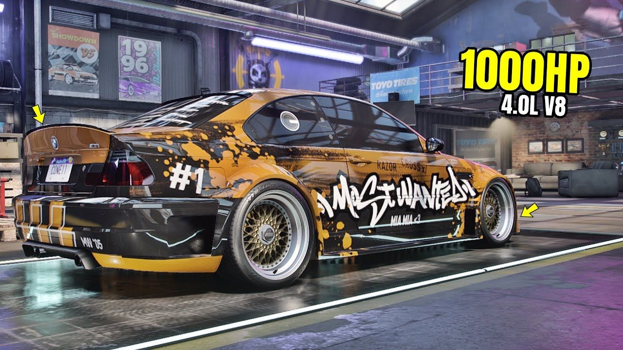 Need for Speed Heat Gameplay - 1000HP BMW M3 E46 Customization | Drift B... in 2020 (With images) | Bmw m3. Need for speed. Bmw