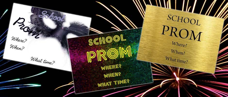 Free Prom Tickets With Every Order! Size A6, full colour printed - prom tickets design