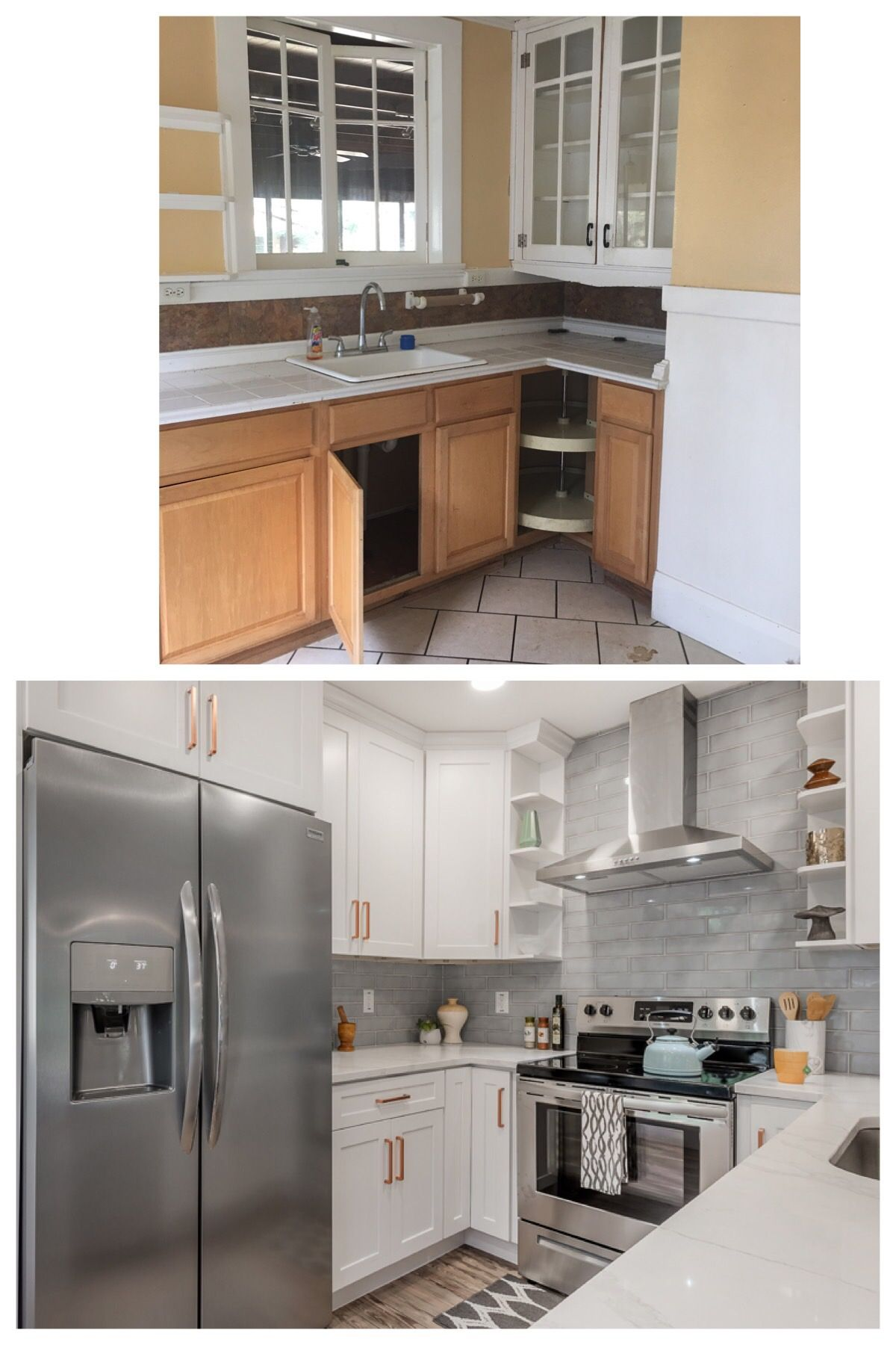 small kitchen remodel - 1920's bungalow remodel in