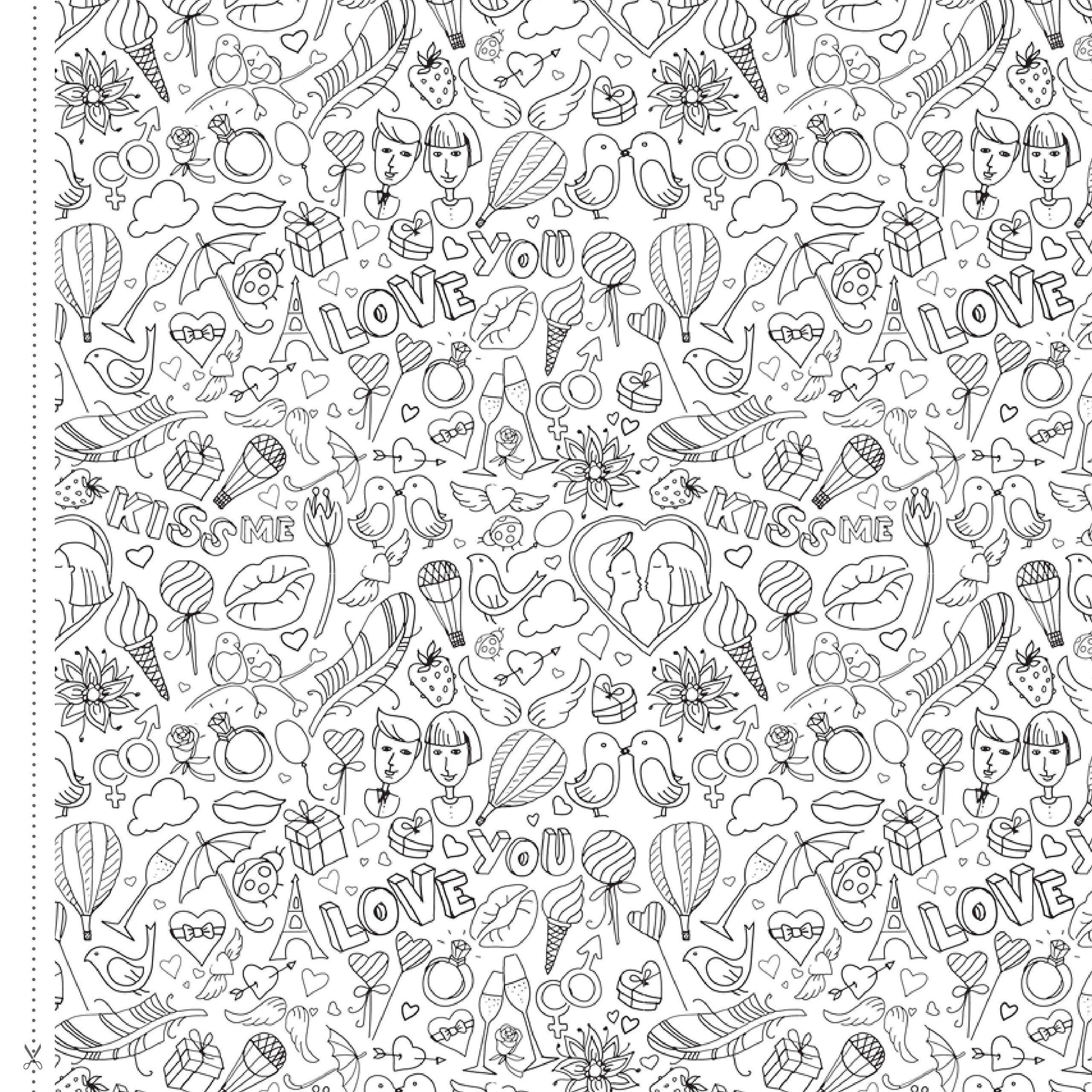 Te Amo em Todas as Cores - Livro para colorir na Amazon.com.br ...